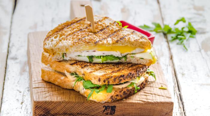 Сэндвич.  Фото: yandex.uz.
