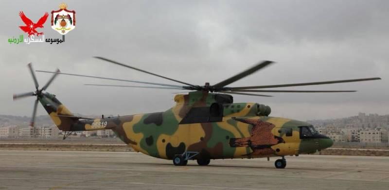 В Иорданию поставлен первый Ми-26Т2