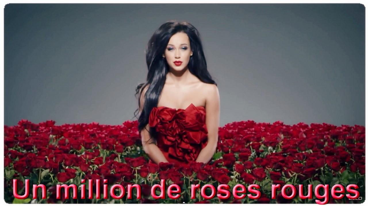Великолепный голос завораживает! Million de roses - Dominique MOISAN. Музыка красивая, поют красиво!
