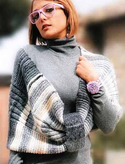 шарф-накидка
