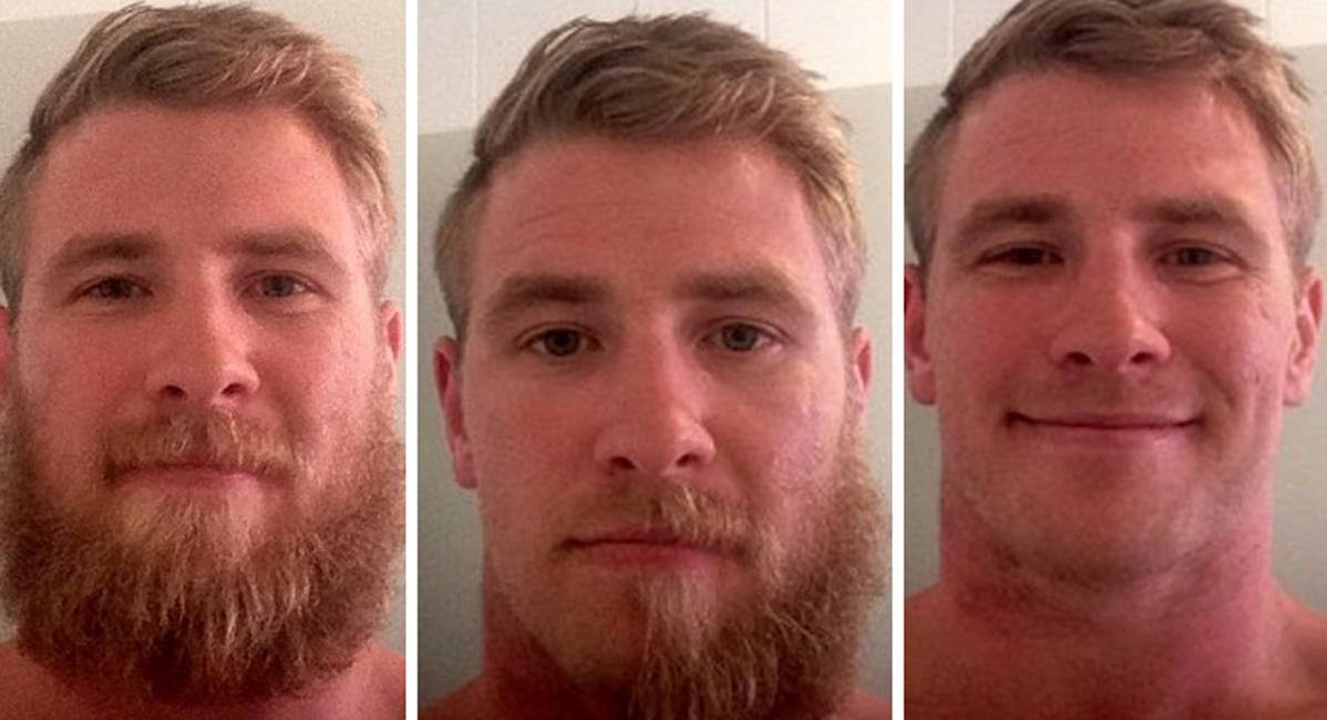 Как борода меняет человека: фотографии до и после бритья просто нереальны