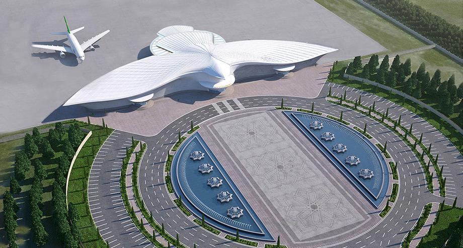 фото туркменистана аэропорт