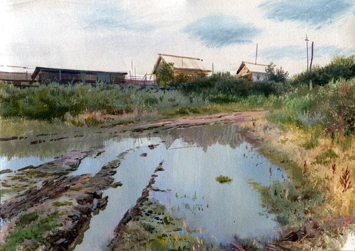 художник Григорий Лозинский картины - 12