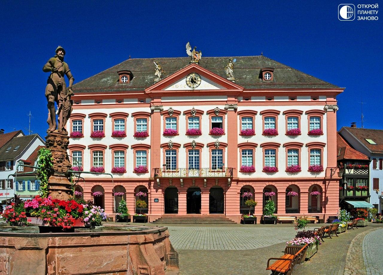 Сказочный город Генгенбах, Германия