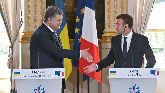 Порошенко анонсировал «формулу Макрона» по урегулированию в Донбассе. На Донбассе посмеялись над планом Макрона по урегулированию конфликта