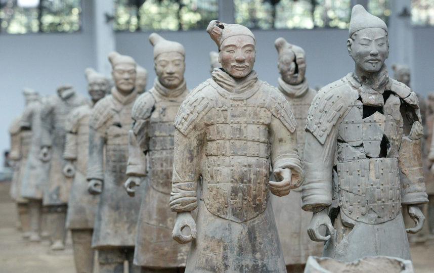 В Китае обнаружили вторую терракотовую армию
