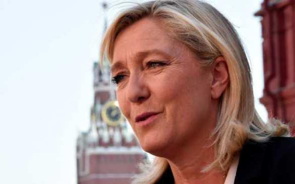Марин Ле Пен: На Украине — незаконная власть, которая совершает военные преступления на Донбассе