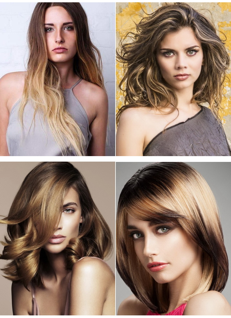 цвет волос для 40 летней голубоглазой женщине