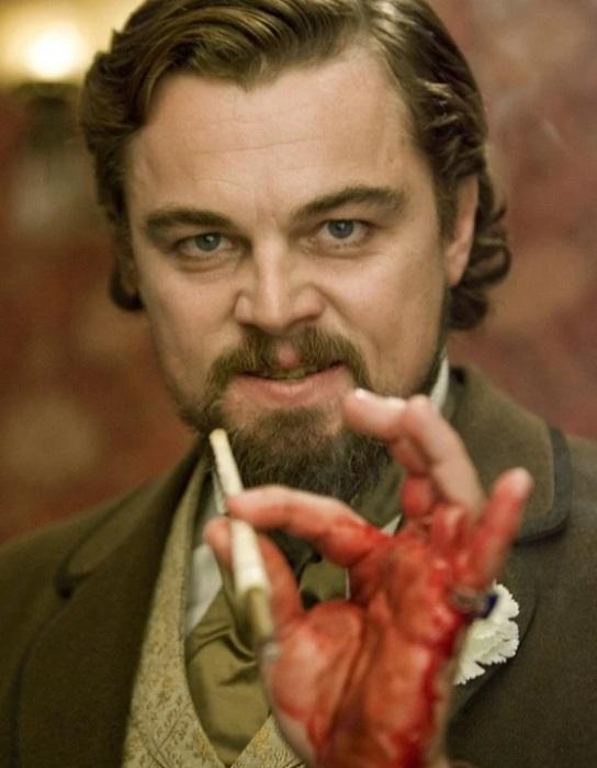 Это настоящая кровь актера. / Фото: kinopoisk.ru