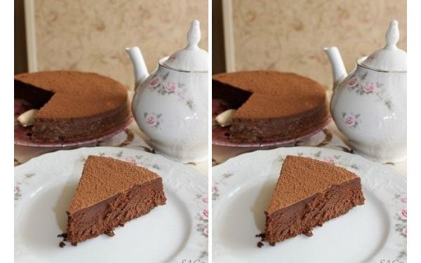 Очень шоколадный и очень нежный торт — Трюфель Евы. Шедевр от французской кулинарной Академии Le Cordon Bleu