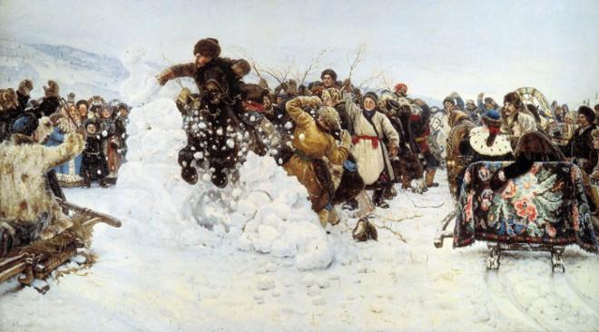 Зима, что белою лишь кажется…Все оттенки снега на картинах русских художников