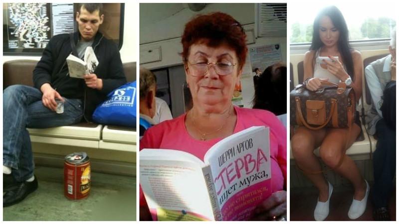 В России живут самые читающие люди в мире (21 фото)