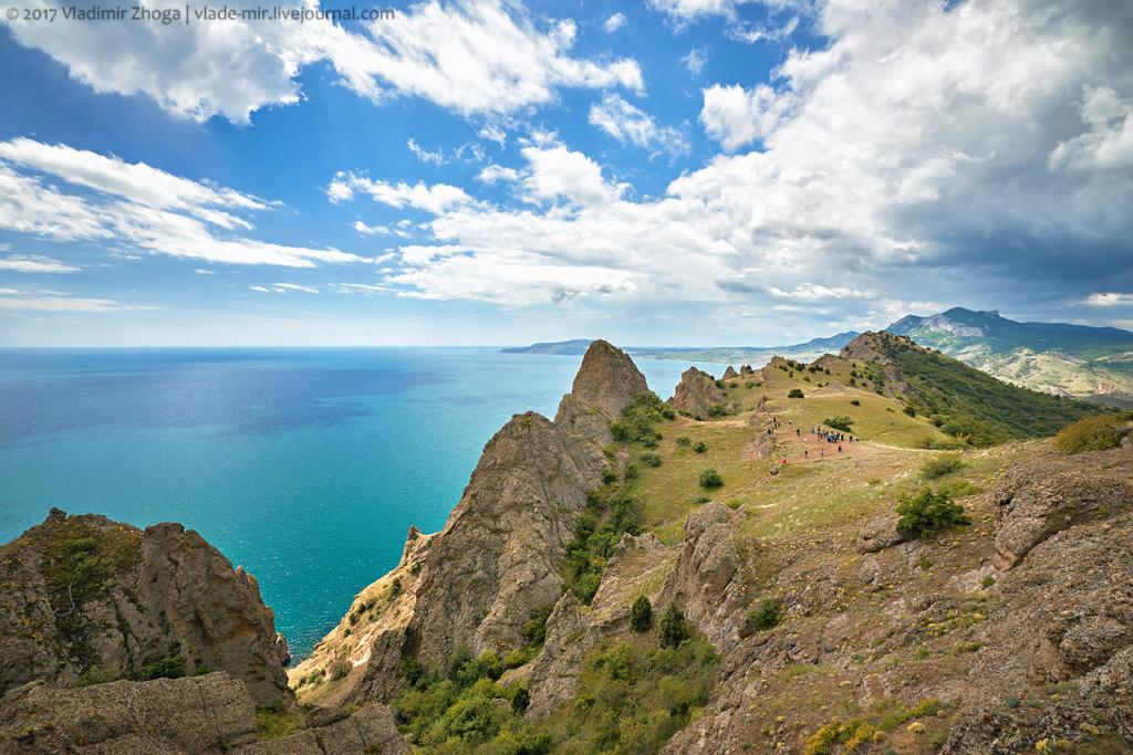 Крымские красоты заповедника Карадаг