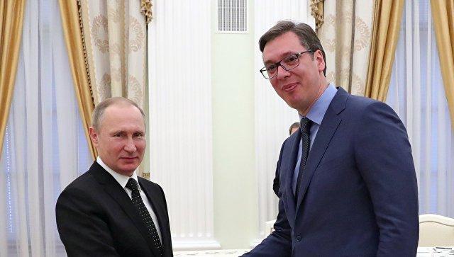 Новоизбранный президент Сербии Вучич поблагодарил Путина за поддержку