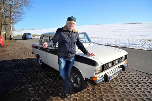 TAG24: немецкий пенсионер «накатал» на советском «Москвиче» миллион километров
