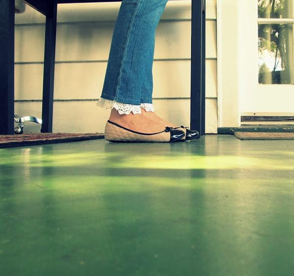Удлинение джинсов