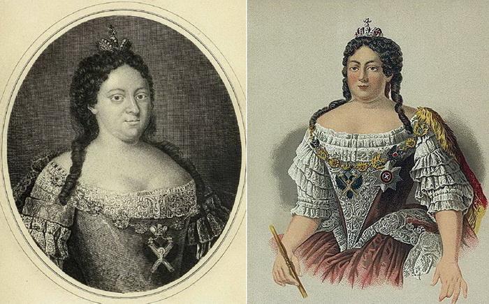 Портреты императрицы Анны Иоанновны