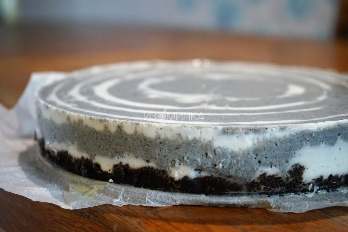 желейный торт зебра