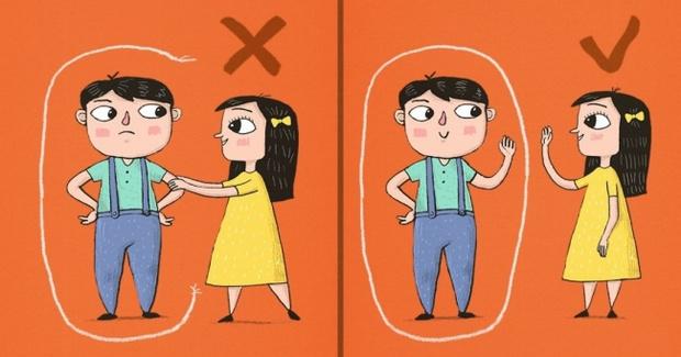 Как за рубежом детям рассказывают про личное пространство