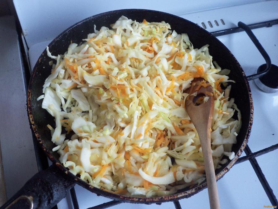 Пирог из капусты без яиц рецепт
