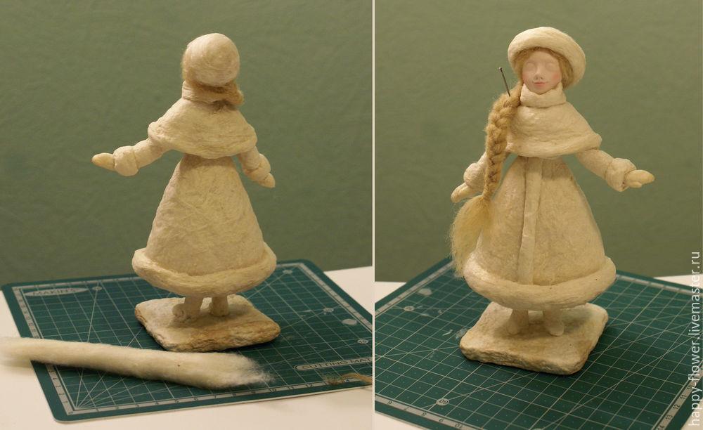 Снегурочка своими руками из глины 81