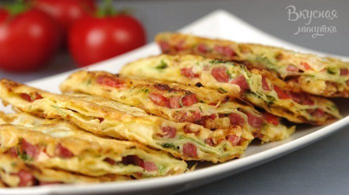 Эта домашняя закуска готовится в считанные минуты: буквально 10-15 минут — и все готово!