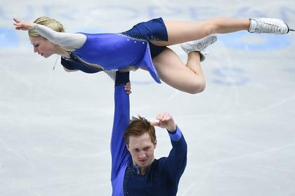 Тарасова и Морозов завоевали золото ЧЕ по фигурному катанию
