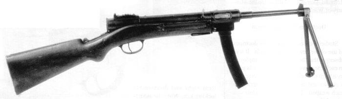 Пистолеты-пулеметы STA 1922 / 1924 (Франция)