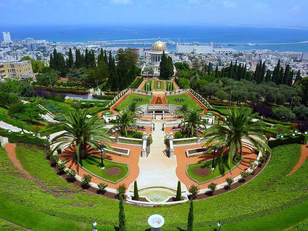Висячие сады Хайфы