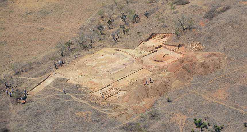 В Мексике найдены остатки дворца, свидетельствующие о могуществе древней цивилизации