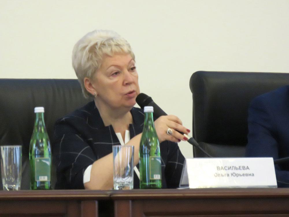 Ольга Васильева: «Ни в чём не должно быть хаоса»