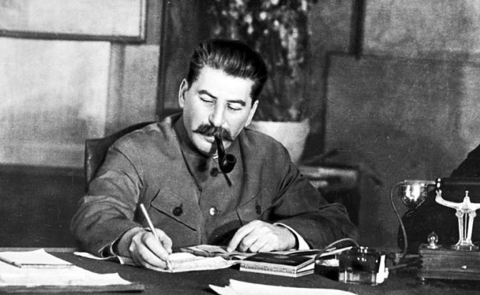 «Товарищ Сталин принял польского осла»
