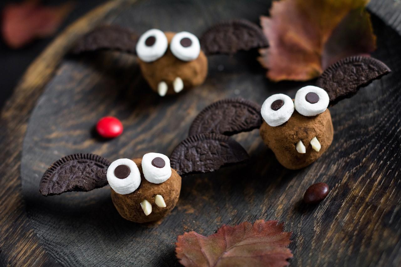 Страшные рецепты для  Хеллоуина и других страшных праздников