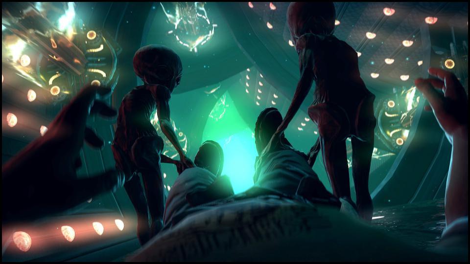Не только маленькие серые пришельцы похищают людей