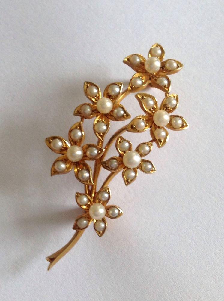 Ювелирные истории: seed pearl (семена жемчуга)