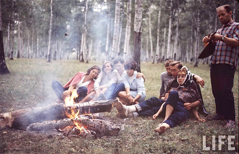 Как жила советская молодёжь в 1967 году. Снимал американский фотограф Билл Эппридж 27