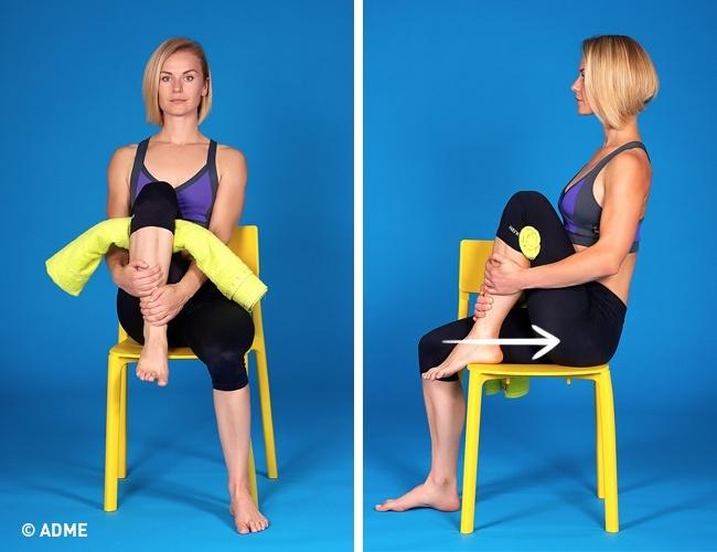 Простой способ унять боль в колене