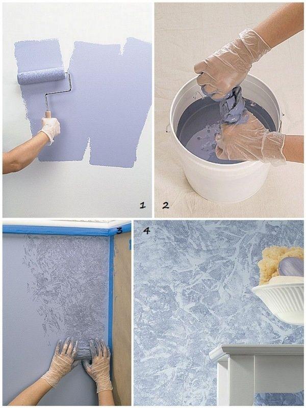 Стены в квартире своими руками советы и фото