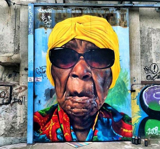 Sebastien Waknine (Испания) в мире, граффити, интересное, искусство, подборка, стрит-арт, уличное искусство