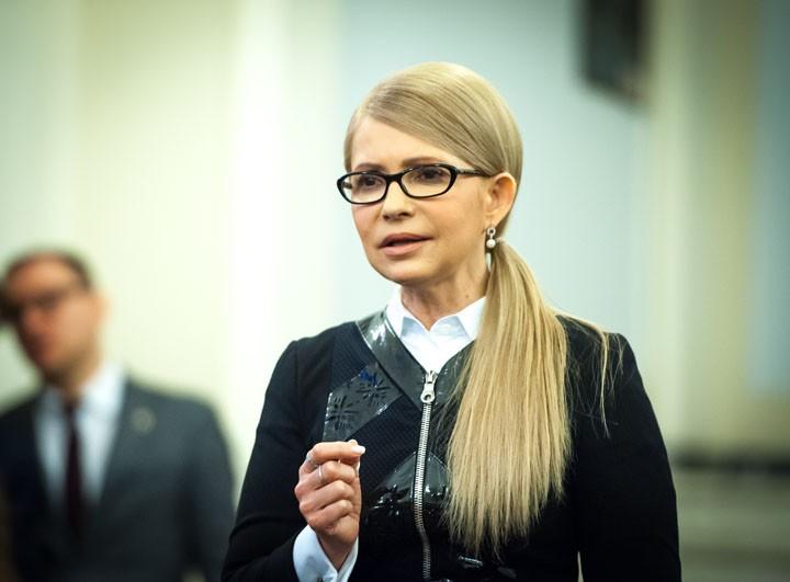 Тимошенко заявила, что готова вести переговоры с Москвой по Донбассу