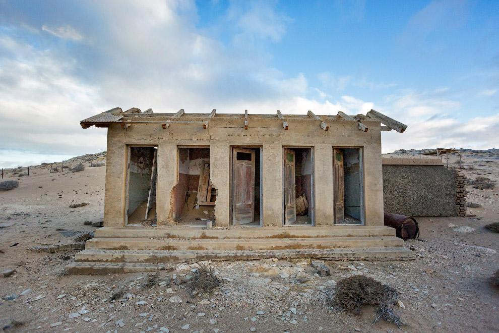 «Алмазный» город-призрак в Намибии