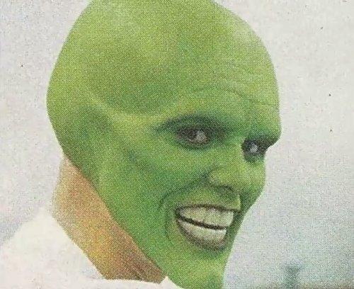 Как гримировали Джима Керри для роли в Маске