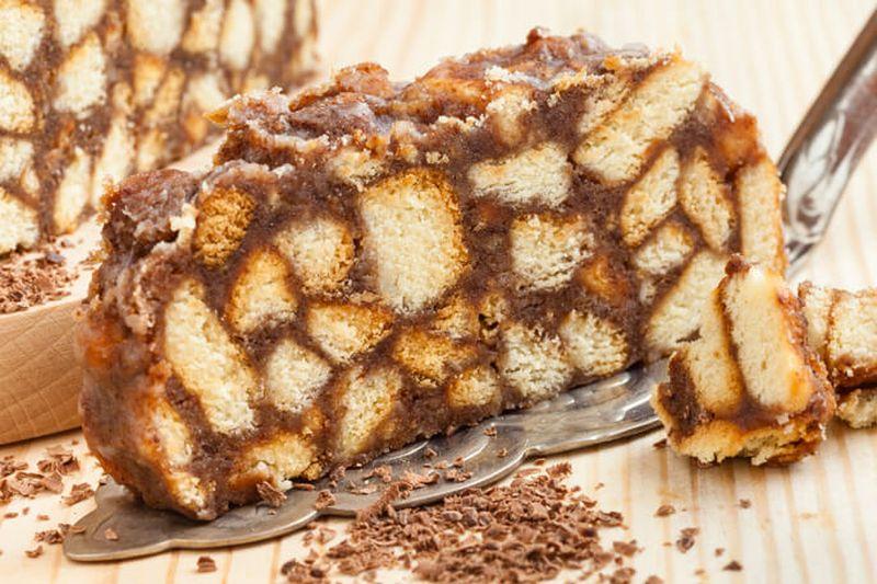 Рецепт торта муравейник с печенья пошагово