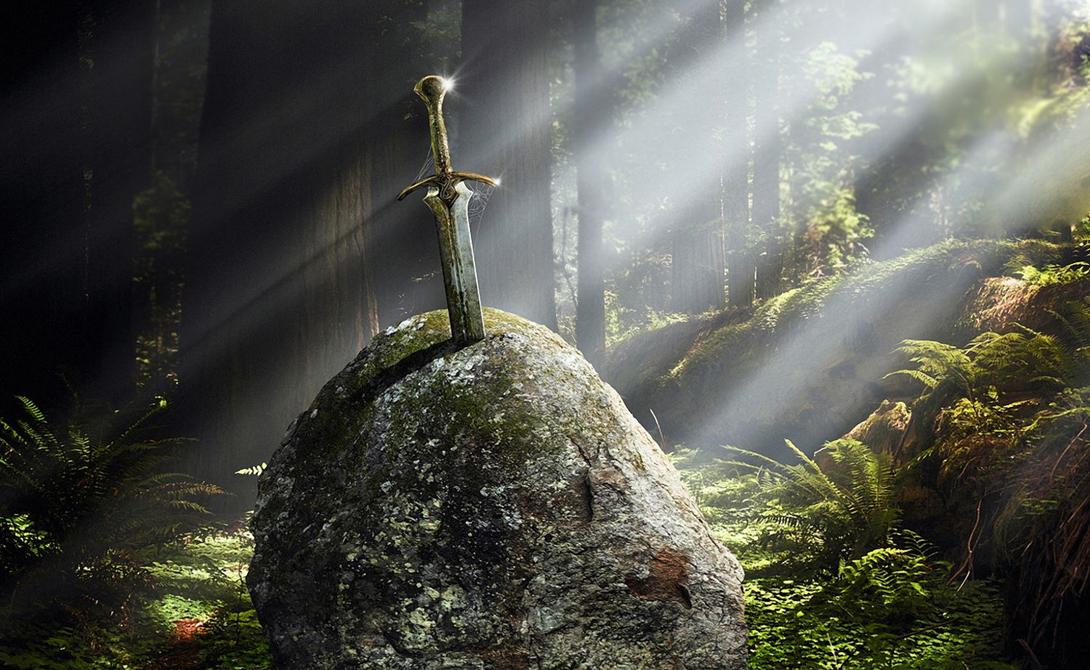 Древнее легендарное оружие из глубин веков
