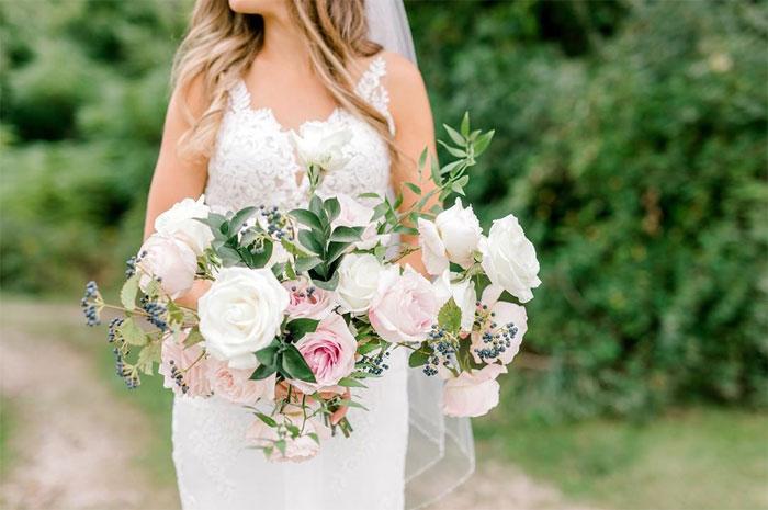 Необычная история об олене, букете невесты и фотосессии