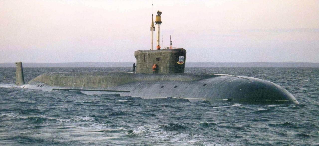 русские подводные лодки класса борей
