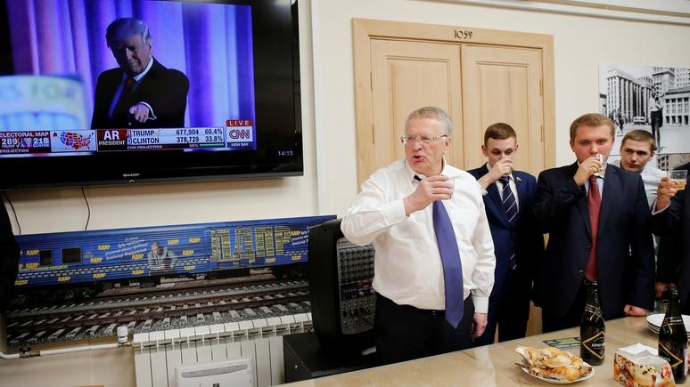 NZZ: радость русских преждевременна — Трамп не станет «брататься» с Путиным