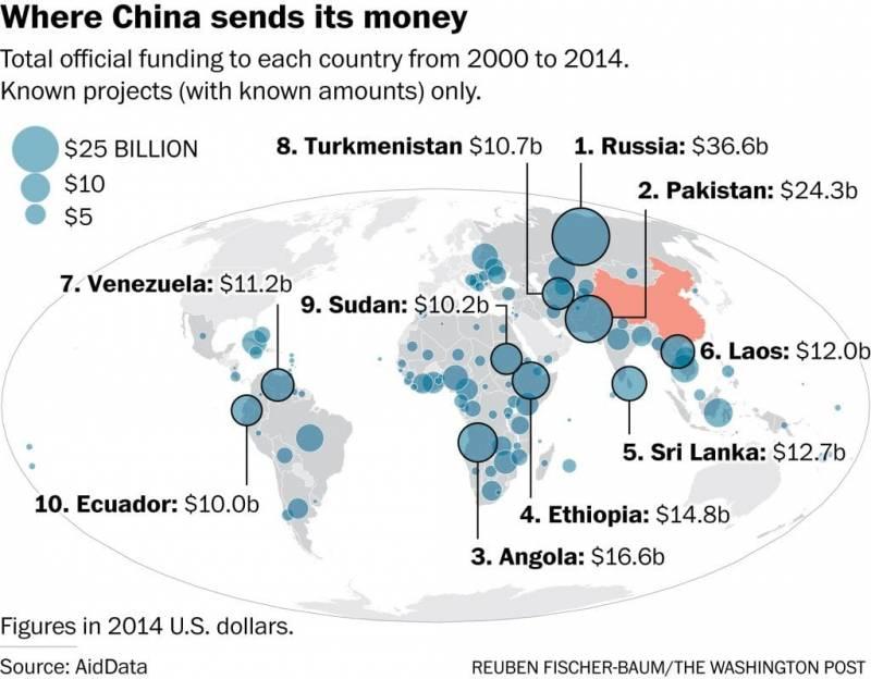 Китай повсюду: от алжирской оперы до табака в Зимбабве