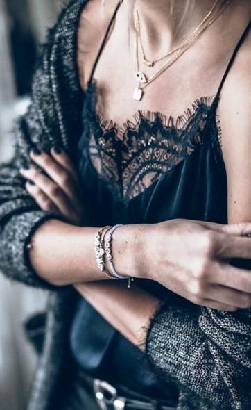 Стильный и элегантный черный — он всегда в моде и в тему...