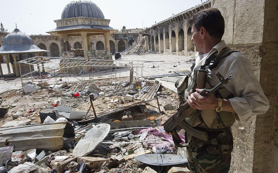 Алеппо: северный фронт пал